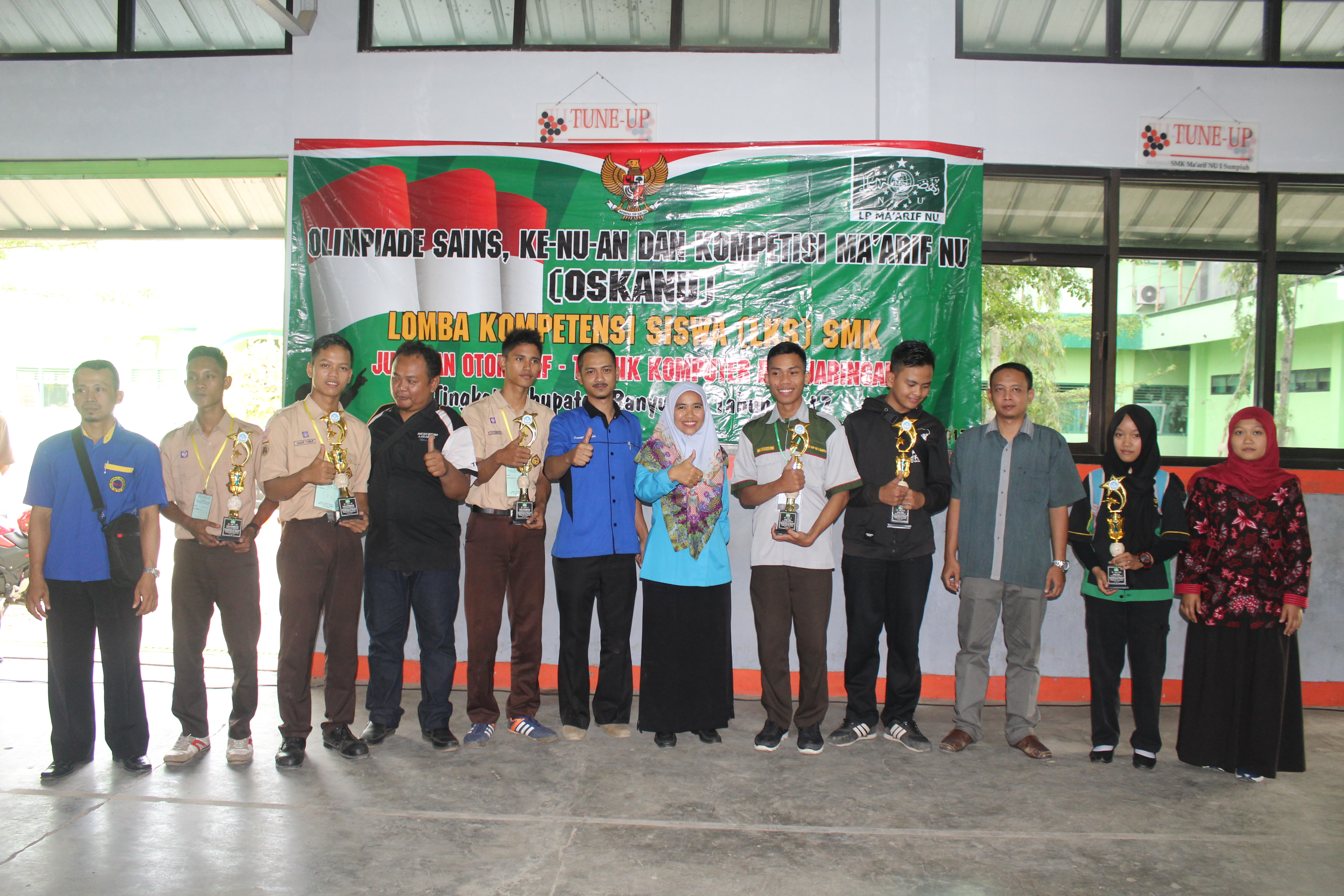 Juara Pertama Networking